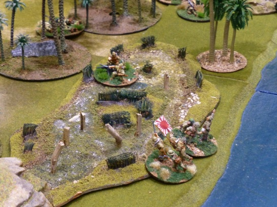 Japanese infantry advancing
