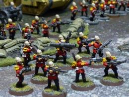 Seasoned Soldiers