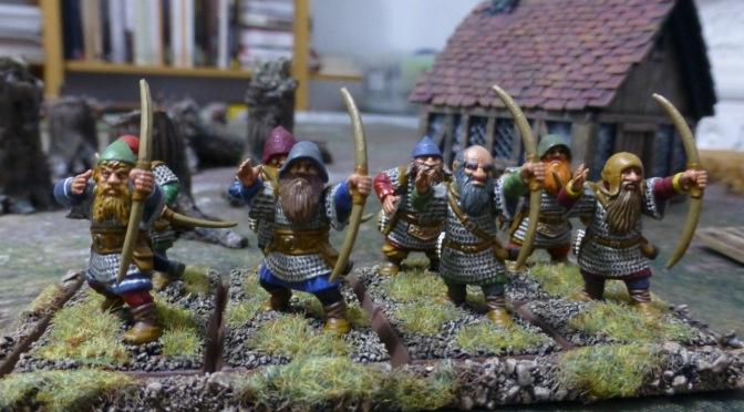 Dwarf Archers Marking the Target
