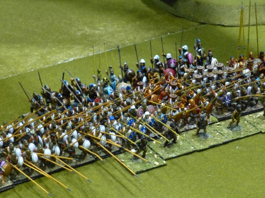 Pike formation with skirmishing screen