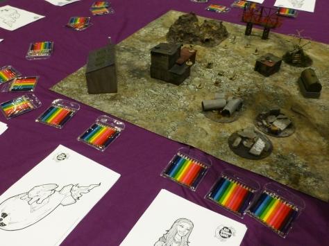 Wasteland board and character sheets