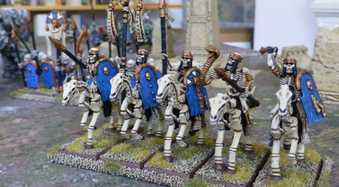 The Tomb Kings Ride to War