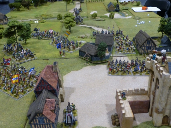 15th century warfare in Normandy