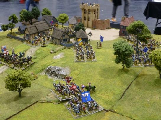 15th century warfare in Normandy