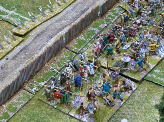Romans versus Germanic tribes