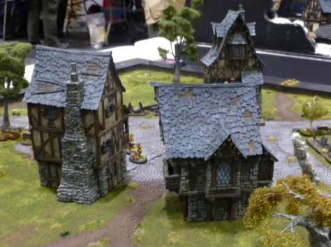 Tabletop skirmish game in a fairytale world