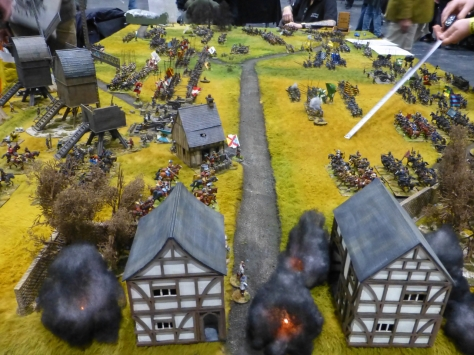 Battle between the Swedish and Holy Roman Empire