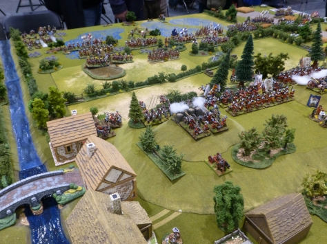 The decisive battle of the Williamite Wars in Ireland