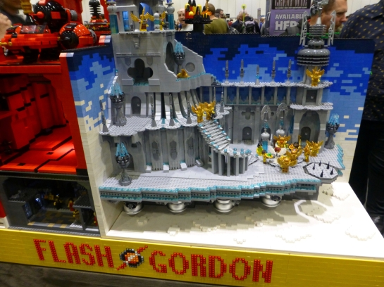 Flash Gordon wargaming in Lego