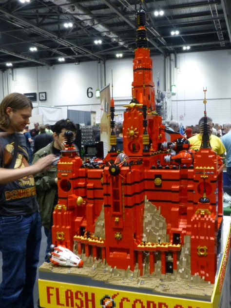An old fashioned sci-fi spectacular in Lego