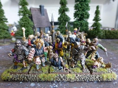 Zombie regiment for Warhammer Fantasy Battle