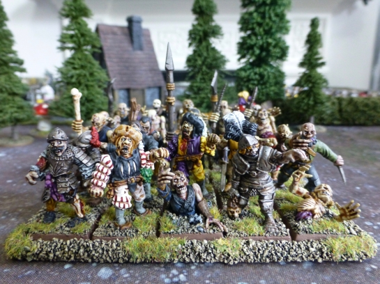 Zombie regiment for Warhammer Fantasy Battle