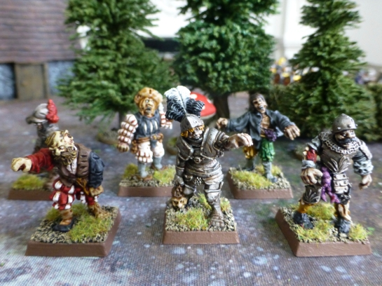 Zombies by The Assault Group for Warhammer Fantasy Battle