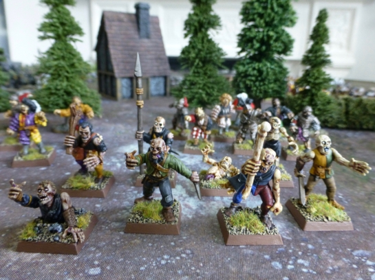 Zombie conversions for Warhammer Fantasy Battle