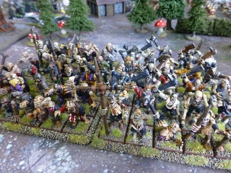 Zombie horde for Warhammer Fantasy Battle