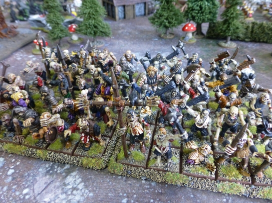 Zombie horde for Warhammer Fantasy Battle
