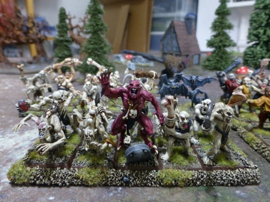 Vampire in a unit of ghouls