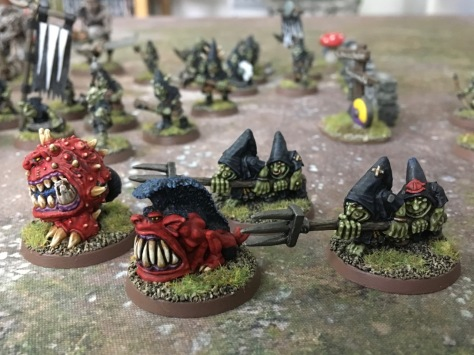Night Goblin Squig Herders for Saga: Age of Magic
