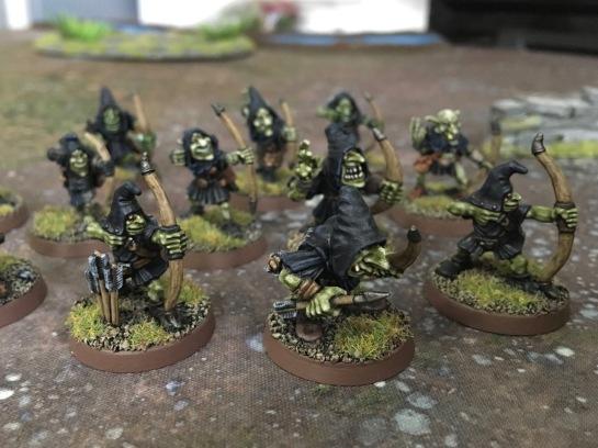 Night Goblin archers for Saga: Age of Magic