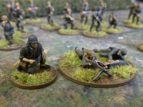 German MG34 team Normandy 1944