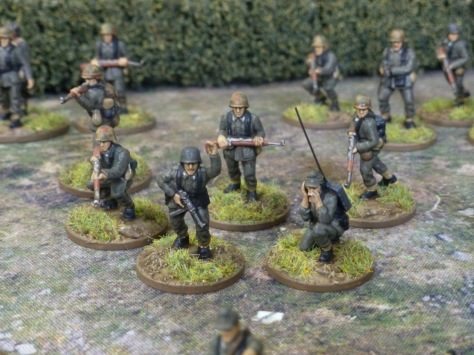 German infantry platoon command Normandy 1944