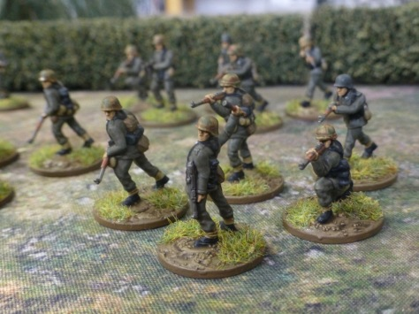 German infantry squad Normandy 1944