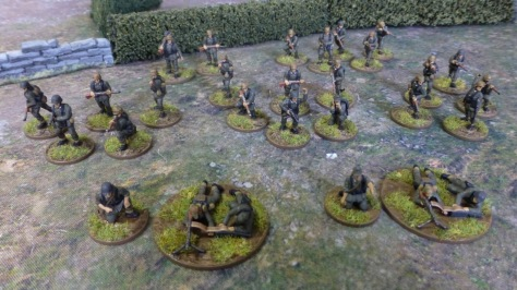 German infantry platoon Normandy 1944