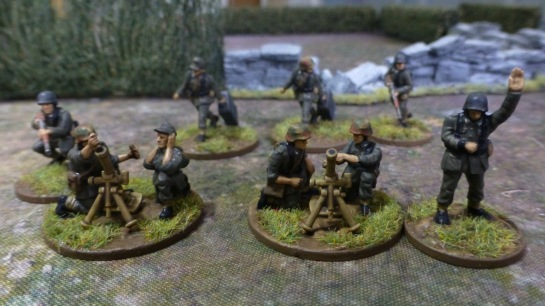 German medium mortars Normandy 1944
