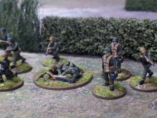 German grenadiers Normandy 1944