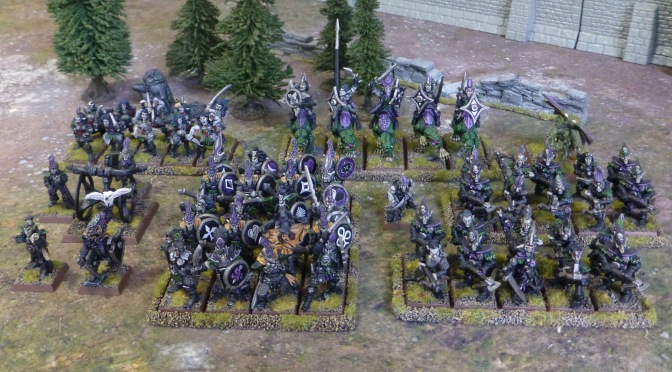 Oldhammer Armies – Dark Elves