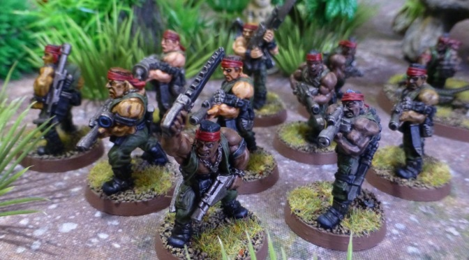 Warhammer 40k Detachments – Catachan Jungle Fighters